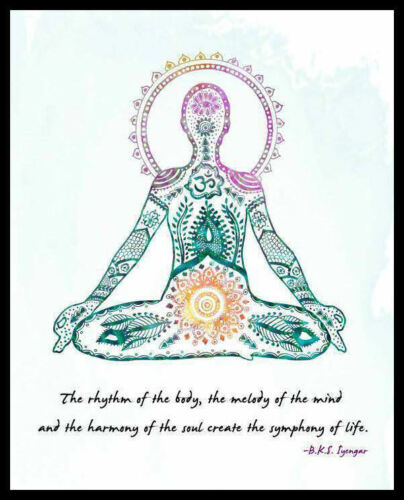 Men/'s Ladies T SHIRT cool Yoga meditation spiritual peace mother earth