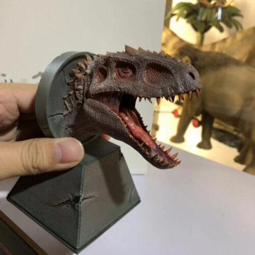 King bereserker T-Rex Dinosaurio Juguetes Modelo estatua de cabeza en Stock