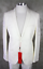 miniatura 1 - HUGO BOSS Completo Arti Hesten 182 Tg. 48 M Bianco Smoking Mimetico Suit 38R