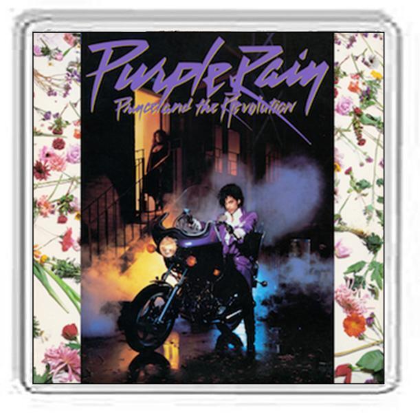 Prince Album Cover Drinks Coaster. 38 Album Options.