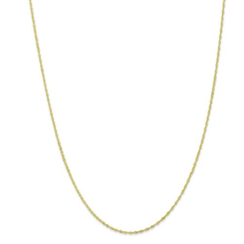 10k Yellow Gold 1.10mm Singapore Chain Necklace or Bracelet 10KPE9