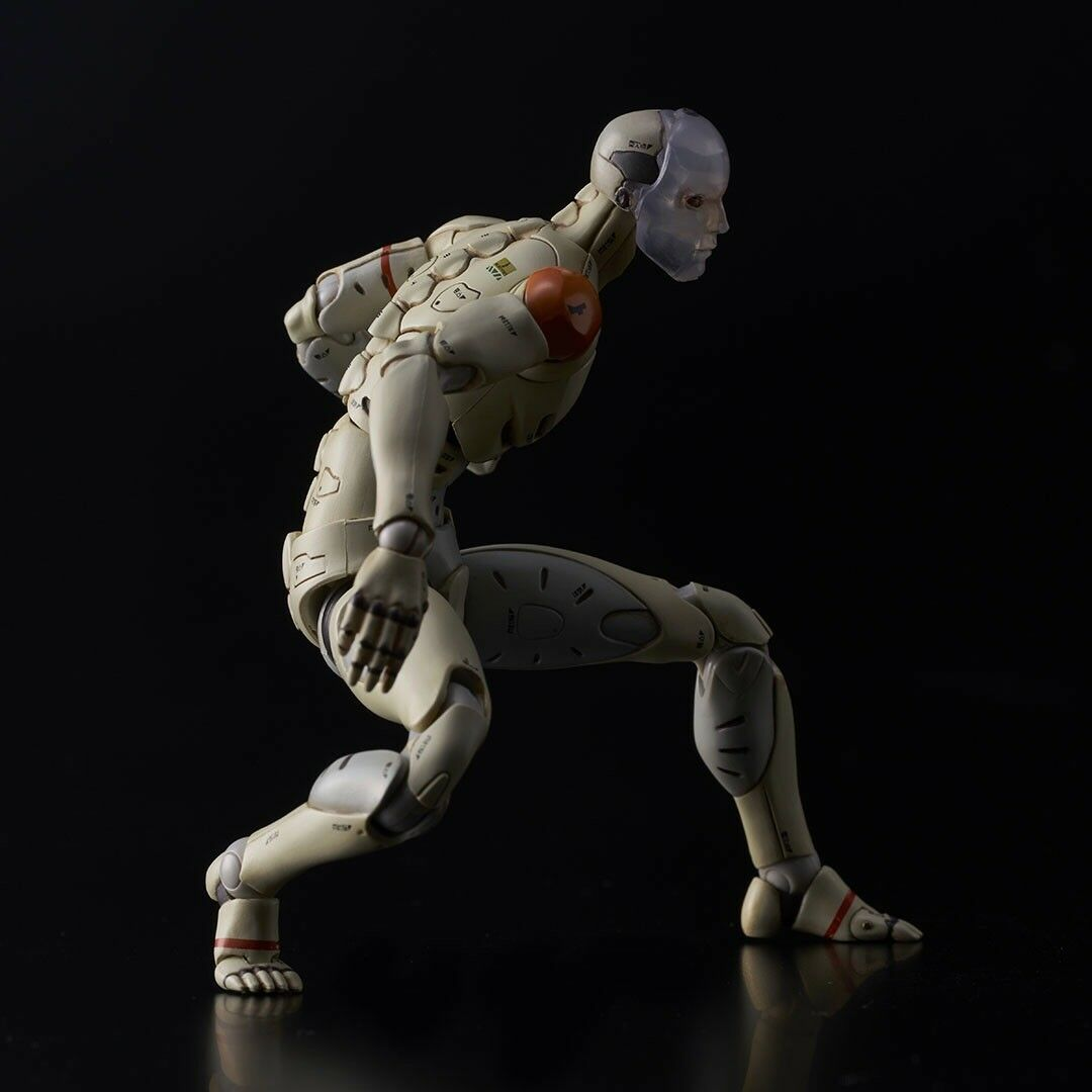 1000toys SDCC Event Exclusive 1/12 Synthetic Human Test Body Action Figure MIB