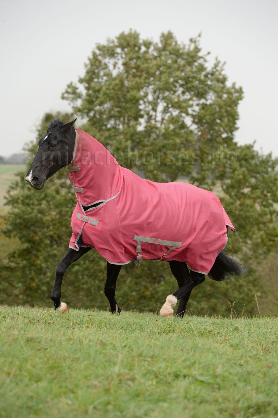 Bucas Bucas Bucas Pony-Fliegendecke mit Halsteil Freedom Paradise Rosa 100 cm %%% b5f905