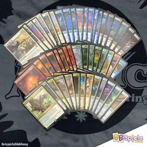Magic: The Gathering 50 Rares (seltene Karten) Sprache Deutsch