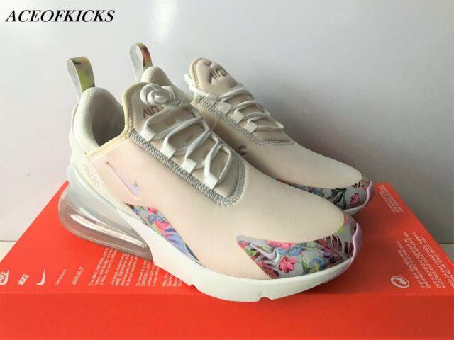 Nike Air Max 270 Floral (SAMPLE) Arctic Pink US SZ 7 Women's AT6819 100
