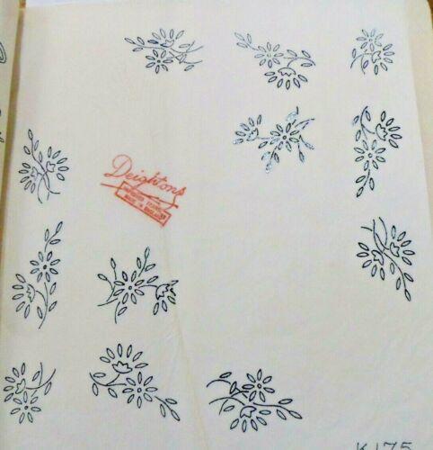 Vintage Hierro en la transferencia de bordado-Pequeña Flor Motivos deightons transferencia K175