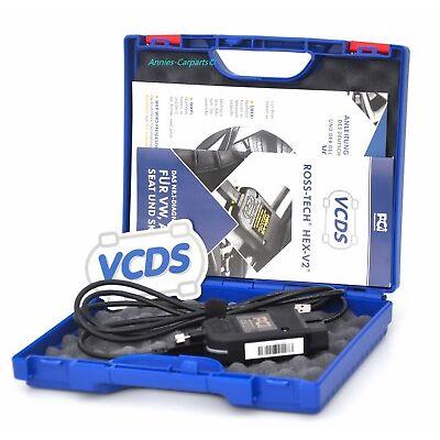 Original VCDS VCDSPro Diagnose VAG-COM HEX CAN Ross-Tech Diagnoseinterface OBD2