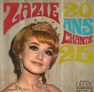 ZAZIE-VARNEL-20-Ans-Chante-25-RARE-60-039-S-VINYL-EP-7-034-FRANCE