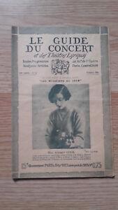 El-Guia-de-La-Concierto-Y-Las-Teatro-Letra-Audrey-Cook-N-14-1928