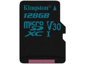 Kingston Canvas Go! 128GB microSDXC Flash Card Model SDCG2/128GBCR