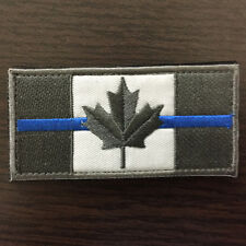 Canadian Flag Canada Military Subdued Tactical Morale Desert Badge Police Patch