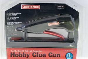 RARE Craftsman Cordless or Corded Glue Gun New In Orig Package 980494 40Watt