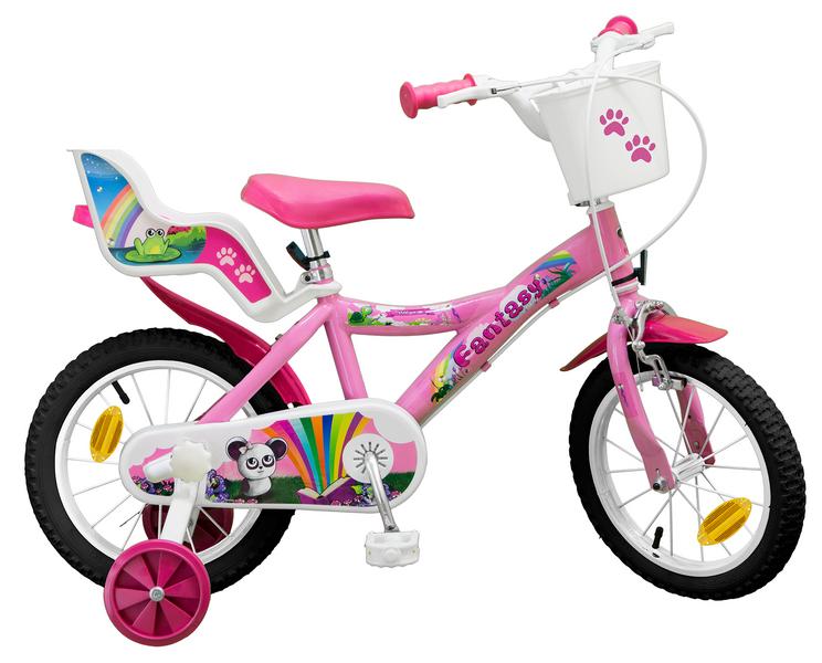 14 ZOLL 14  Kinderfahrrad Mädchenfahrrad Kinder Kinderrad Fahrrad Rad Rad Rad Bike Rosa a3c50d