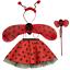 Girls ANIMAL FANCY DRESS TUTU Skirt COSTUME Accessory EARS BOW TAIL SET UK