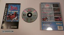 X-COM UFO Defense (Sony PlayStation 1 1995) COMPLETE PS1 LONGBOX Black Label