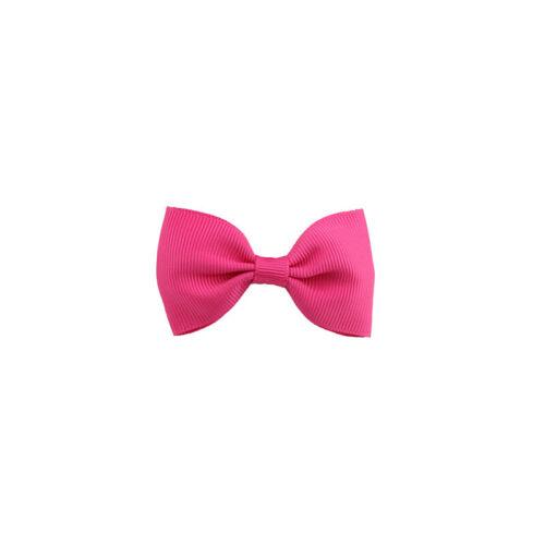 3Pcs Hair Bows Band Boutique Alligator Clip Grosgrain Ribbon For Girl Baby Kids
