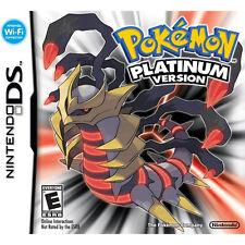 Nintendo DS Pokemon Platinum Version Role-Playing Video Game