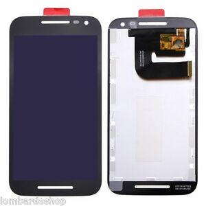 Pantalla-LCD-Tactil-Vidrio-Diapositiva-Motorola-G3-Negro-Black-XT1541-1540-XT150