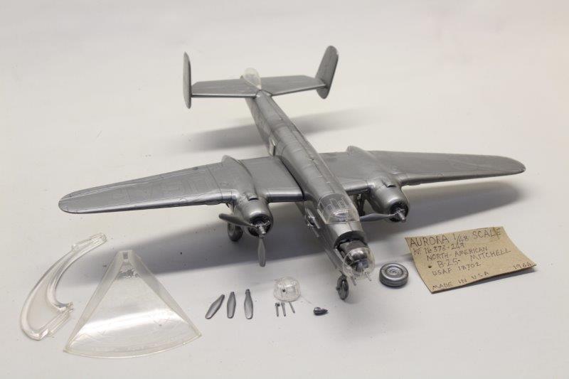 Urora 373 - 249 paquete de ensamblaje para aviones B - 25 Mitchell en América del Norte 1   48 m34