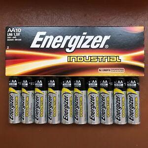 10-x-pilas-AA-Energizer-LR6-Industrial-Alcalino-1-5-V-bateria-de-larga-duracion