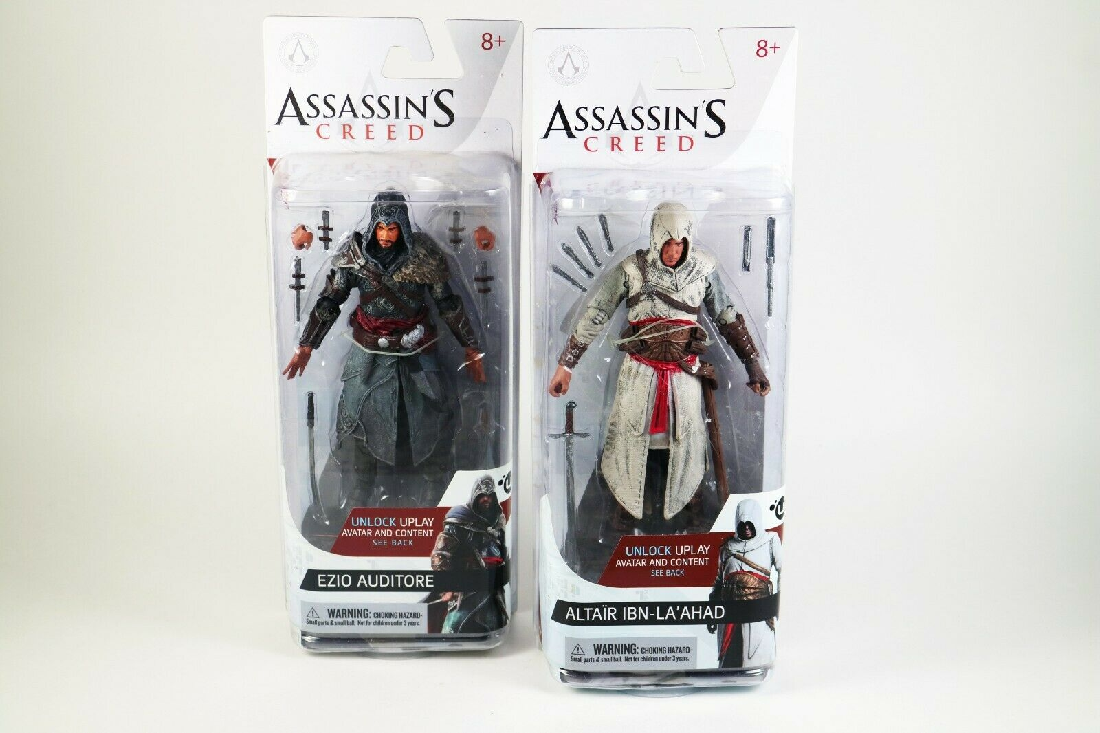 Assassin's Creed  Ezio Auditor -  Altair Ibn-La'Ahad Action Action Action Figure Lot 621985