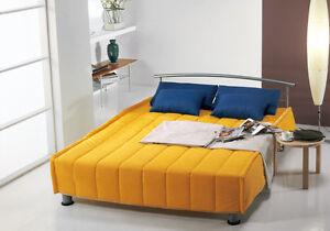 Divano letto moderno Sissi 2 posti moderno - ospiti letto, trasformabile salotto