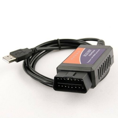 BMW X5 e53 OBD2 Car Diagnostic Code Reader ELM 327 USB Fault Scanner OBD