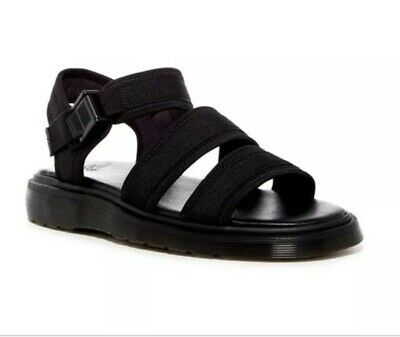 Dr.Martens Sandal Shore Effra Black Neo Sandals Man's Black S:10 | eBay
