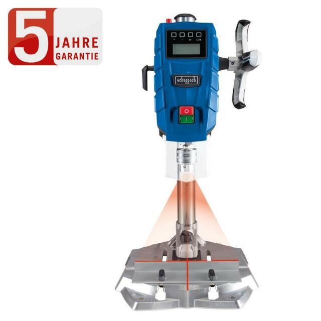 Scheppach Tischbohrmaschine Säulenbohrmaschine DP55 mit Digitaldisplay & Laser