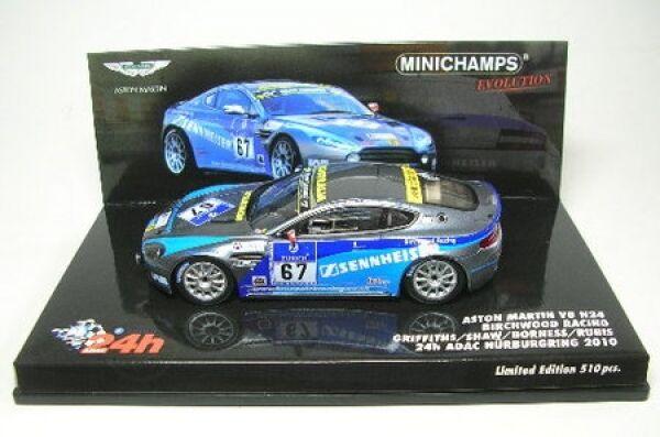 Aston Martin V8 N24 N°67 24h ADAC Nürburgring 2010