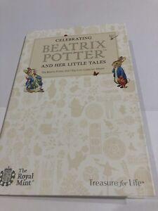2017-Royal-Mint-Beatrix-Potter-50p-Coin-Collector-Album-Folder-COMPLETE-COINS