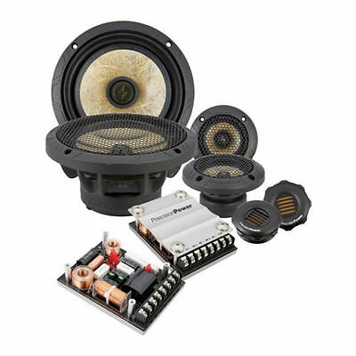 "PRECISION POWER PPI P65C3 6.5"" 3-WAY POWER CLASS COMPONENT SET"