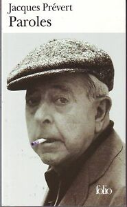Details About Jacques Prevert Lyrics Poetry The Laggard Barbara Writing Page Show Original Title