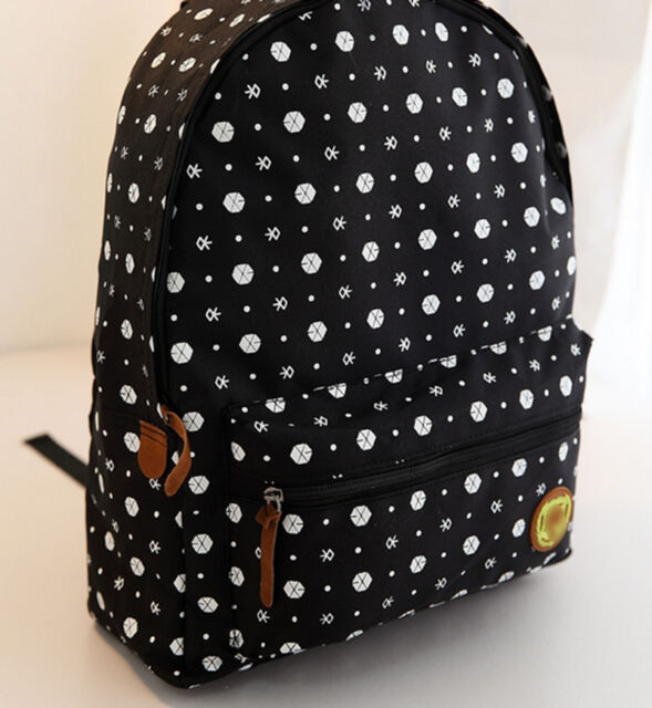 Faddish EXO Tao Kai Lay Chen DO Xiumin Suho Schoolbag Backpack Kpop EXO-M AU FT