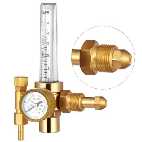 HITBOX Argon CO2 Mig Tig Flow Meter Regulator Welding Gas Welder Gauge