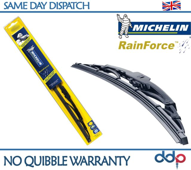 Genuine MICHELIN RAINFORCE Traditional Front Wiper Blade 16 Inches, 40 Cm