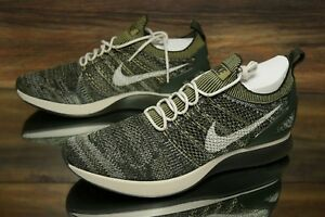 2e2fb6df975b Nike Air Zoom Mariah Flyknit Racer Green 918264-301 Men s Shoes Size ...