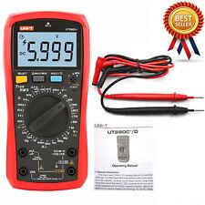 Uni T Ut890d True Rms Handheld Digital Multimeter Rel Acdc Frequency Tester