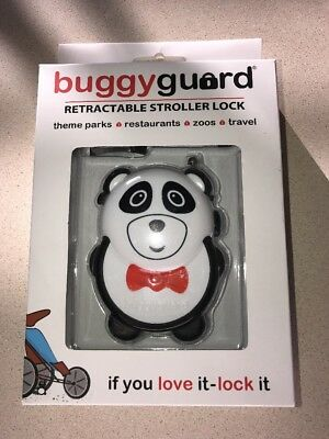 Brand New Buggyguard Retractable Stroller Lock Panda
