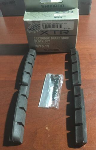 4pk XTR M70//R Brake Pads Shimano Black