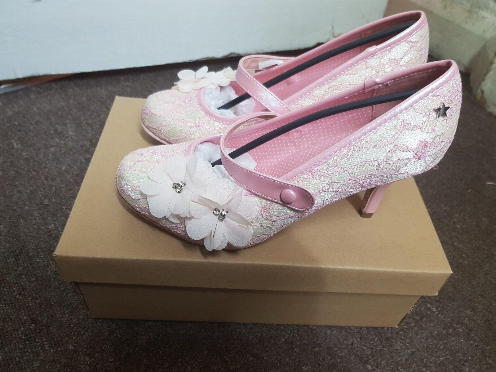 femmes Joe marrons chaussures Louisa UK Taille 5 brand new