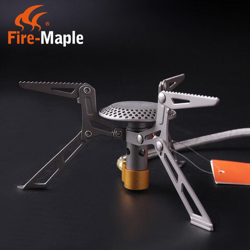 Fire Maple Outdoor Cooking Titanium Split Stove Ultralight Picnic  Stove Burner  just buy it