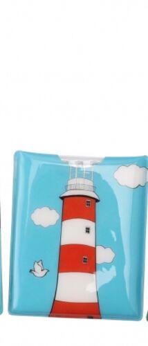 LED Torch Handy Handbag Purse Wallet Pocket Flashlight Lighthouse Volcano Sunset