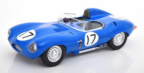 24h le mans Lucas//brussin 1957 1:18 CMR Jaguar D-Type short nose #17