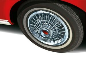 Print on canvas 1966 Ford Mustang Wheel cover by Dutch artist Ron de Haer