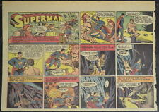 SUPERMAN SUNDAY COMIC STRIP #17 Feb 25, 1940 2/3 FULL Page DC Comics RARE