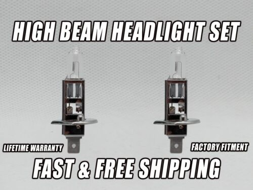 Factory Fit Halogen High Beam Headlight Bulbs For JAGUAR X-TYPE 2002-2008 Qty 2