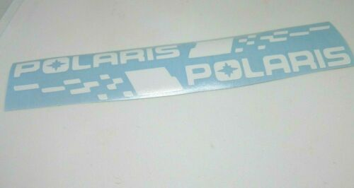 1 set of 2 stripe polaris sticker vinyl decal for car and others glossy