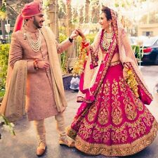 new Indian New Fancy Bollywood Designer Party Wear Embroidered Lehenga Choli