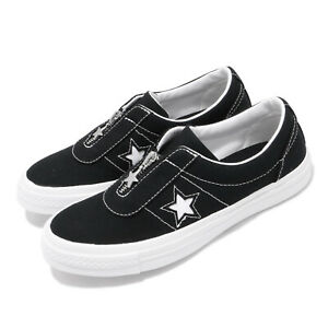 Converse One Star OX Black Vintage White Men Women Skate